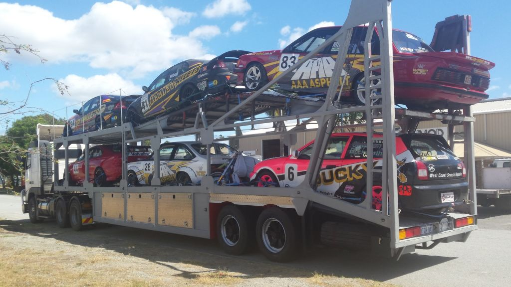 Loaded Car Carrier